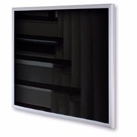 Skleněný sálavý panel černý, instalace stropní i nástěnná, 300W (30 ks/pal)