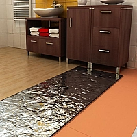 Topná rohož v hliníkové folií, 560 W - 4,0 m2