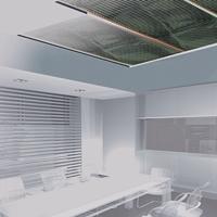 Folie pro stropní vytápění,šířka 0,4m - 140 W/m2