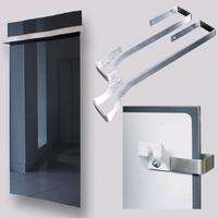Držák ručníků pro panely GR 500 a 700 (šířka skla 600 mm)