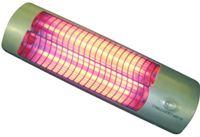 Infrazářič se třemi křemíkovými trubicemi s vysokou účinností a dlouhou životností. Má 3 stupně výkonu.